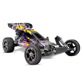 Traxxas TRA24076-4  Purple Bandit 1/10 VXL Buggy RTR w/o Battery & Charger