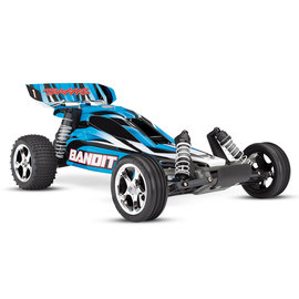 Traxxas TRA24054-1  BlueX Bandit 1/10 Extreme Sports Buggy RTR w/ Battery & Charger