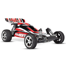 Traxxas TRA24054-1  RedX Bandit 1/10 Extreme Sports Buggy RTR w/ Battery & Charger