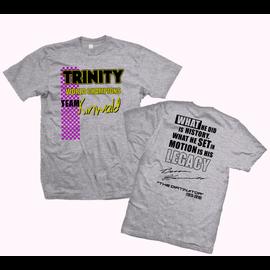 Trinity TEP9145  Grey Team Kinwald Trinity Shirt XXX Large (3XL)