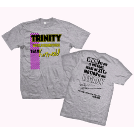 Trinity TEP9146  Grey Team Kinwald Trinity Shirt XXXX Large (4XL)