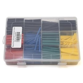 RTK6002  530 Piece Colored Heat Shrink Tube Kit (3mm/6mm/7mm/10mm)
