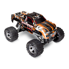 Traxxas TRA36054-4  Orange Stampede 2WD Monster Truck RTR w/o Battery & Charger