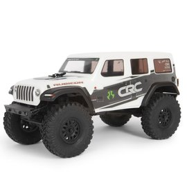 Axial Racing AXI00002T1 1/24 SCX24  White 2019 Jeep Wrangler JLU CRC Rock Crawler 4WD RTR