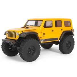 Axial Racing AXI00002T2 1/24 SCX24  Yellow Jeep Wrangler JLU CRC Rock Crawler 4WD RTR