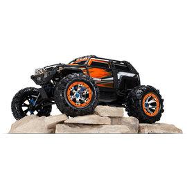 Traxxas TRA56076-4  OrangeX Summit 1:10 4WD  Extreme Terrain Monster Truck
