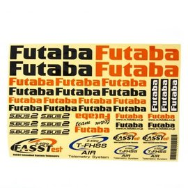 Futaba FUTEBB1180  Decal Sheet for Aircraft