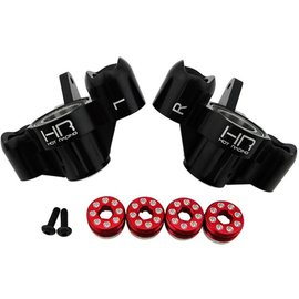 HOT RACING HRAAON21M01  Aluminum Axle Carriers with Bearings, Black, for Arrma Kraton Outcast