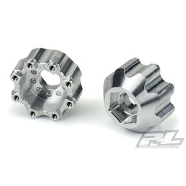 "Proline Racing PRO6353-00  8x32 to 17mm 1/2"" Offset Aluminum Hex Adapters"