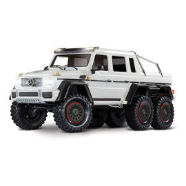 Traxxas TRA88096-4  White TRX-6 Mercedes-Benz G 63 AMG 6x6 w/o Battery & Charger