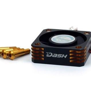 Dash DA-770107  Dash Ultra High Speed ESC Cooling Fan 30x30x10mm (Alu) Black Golden