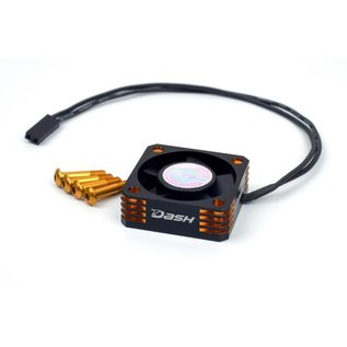 Dash DA-770109  Dash Ultra High Speed Motor Cooling Fan 30x30x10mm (Alu) Black Golden