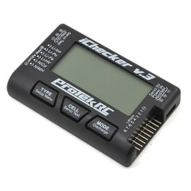 "Protek RC PTK-211  ProTek RC ""iChecker 3.0"" LCD LiPo Battery Cell Checker (2-8S)"