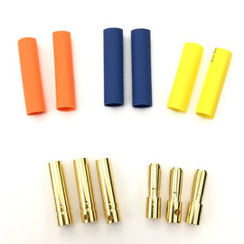 Surpass Hobby USA BUL-40MM 4.0mm Hi Amp Ultra Low Resistance Motor ESC Bullet Connector Set 3pr M/F