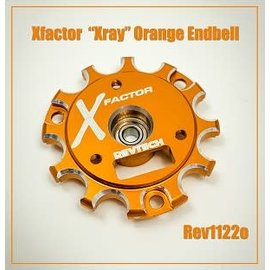 Trinity REV1122O  X-Factor Orange Endbell with Ball Bearing