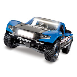 Traxxas TRA85086-4  Blue TRX Unlimited Desert Racer w/ Lights w/o Battery & Charger