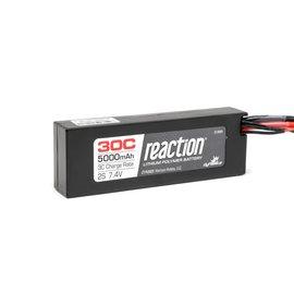 Dynamite DYN9005EC Reaction 7.4V 5000mAh 2S 30C LiPo Hard Case: EC3