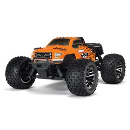 Arrma ARA102720T1  Orange / Black 1/10 Granite 3S BLX 4WD Brushless Monster Truck with Spektrum RTR