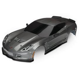 Traxxas TRA8386A  Graphite Corvette Z06 Body 4-Tec 2.0
