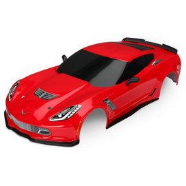 Traxxas TRA8386R  Red Corvette Z06 Body 4-Tec 2.0