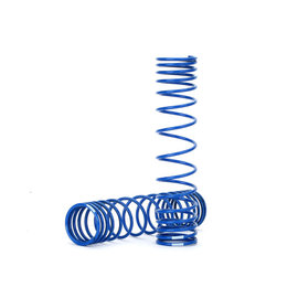 Traxxas TRA8444A  Front Shock Spring (Blue) (GTR) ( Progressive 0.833 Rate) (2)