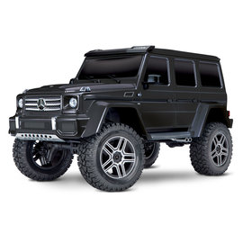 Traxxas TRA82096-4   Black Mercedes-Benz® G 500® 4x4²  Body TRX-4 Trail Crawler
