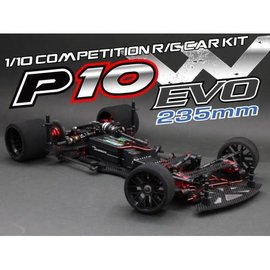 RocheRC USA 151011  Rapide P10W Evo 1/10th 235mm Competition Pan Car Kit