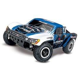 Traxxas TRA68086-4 VISN Blue Slash VXL 1/10 4WD Brushless Short-Course Truck