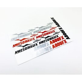 Awesomatix A800FX-STS  Awesomatix A800FX Decal Sticker Sheet