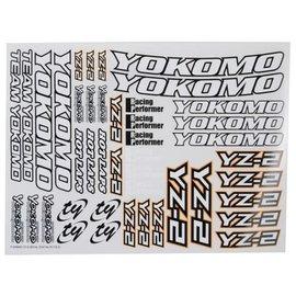 Yokomo YOKZC-YZ-2  Yokomo YZ-2 Decal Sheet