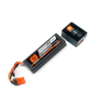 Spektrum SPMXPS2  Smart Powerstage Bundle 2S LiPo Battery w/ Charger