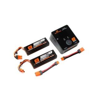 Spektrum SPMXPS4  Smart Powerstage Bundle 4S Two 2S w/ Charger