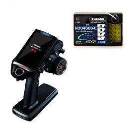 Futaba FUT01004396-3  7PXR 7-Channel 2.4GHz T-FHSS Telemetry Radio System w/R334SBS-E