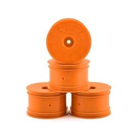DE Racing DERSB4ARO  Orange Speedline 2.2 1/10 Buggy Rear Wheels (4) B6 B74 22 22-4