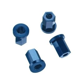 STRC SPTST3654-17DB  Blue Alum. Replacement Internal lock-nut for 17mm