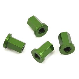 STRC SPTST3654-17DG  Green Aluminum Internal Locknut (4)