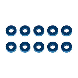 Team Associated ASC31389  Blue Aluminum Washers 7.8x3.5x2.0mm (10)