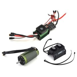 Castle Creations CSE010-0142-01  Mamba XLX Sensored 2028-800KV Fan Shroud Combo