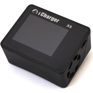 iCharger JUN-X6AMN  Junsi iCharger X6 Lilo/LiPo/Life/NiMH/NiCD DC Battery Charger (6S/30A/800W)