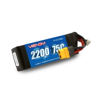 Venom Racing VNR45002  Venom 75C 3S 2200mAh LiPo Battery with XT60 Plug