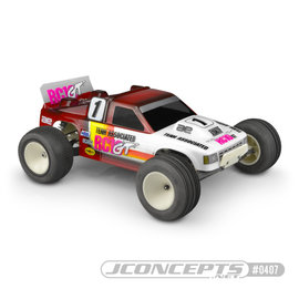 J Concepts JCO0407-6131  JConcepts RC10GT 1/10 Gas Truck Body (Clear)