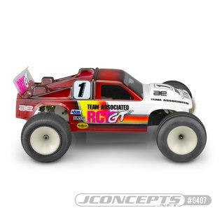J Concepts JCO0407-6131  JConcepts RC10GT 1/10 Gas Truck Body (Clear)