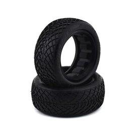 """J Concepts JCO3197-06  Ellipse Silver 2.2"""" 2WD Front Buggy Tires (2)"""