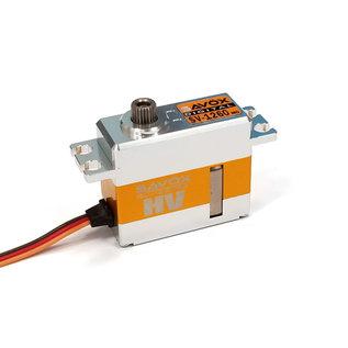 Sanwa SAVSV1260MG  Mini Digital High Voltage Aluminum Case Servo 0.055sec / 167oz @ 7.4V