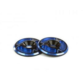 Avid RC AV10012-DBLU  Dual Black / Blue HD Triad Wing Buttons