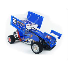 Custom Works R/C CSW0975  Enforcer 7 Gearbox 1/10th Electric Sprint Car Dirt Oval Kit