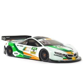 ZooZilla ZR-0009-07  Baybee 0.7mm Standard 190mm Touring Car Clear Body Shell