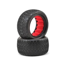 "AKA Racing AKA13126VR  Chain Link 2.2"" Rear Buggy Tires (2) (Super Soft)"