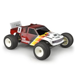 J Concepts JCO0406-6130  JConcepts Original RC10T Team Truck Body (Clear)
