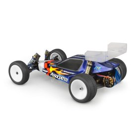 "J Concepts JCO0410-6142  Original RC10B3 Authentic Body w/ 5.5"" Wing (Clear)"